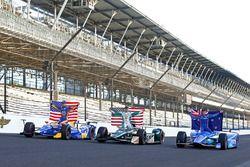 Scott Dixon, Chip Ganassi Racing Honda, Ed Carpenter, Ed Carpenter Racing Chevrolet, Alexander Rossi