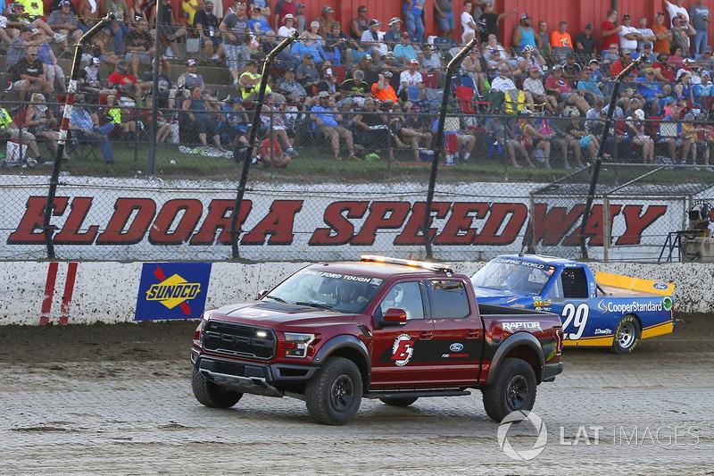 Ford Raptor y Chase Briscoe, Brad Keselowski Racing Ford
