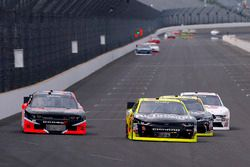 Paul Menard, Richard Childress Racing Chevrolet and Carl Long, Toyota Camry