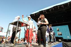Lucas di Grassi, ABT Schaeffler Audi Sport, au tirage au sort des groupes qualificatifs