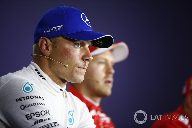 Valtteri Bottas, Mercedes AMG F1, en la conferencia de prensa