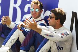 Antonio Felix da Costa, Amlin Andretti Formula E Team, and Robin Frijns, Amlin Andretti Formula E Te