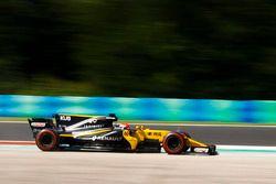 Robert Kubica, Renault Sport F1 Team RS17 se sale de la pista