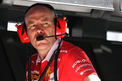 Jock Clear, jefe de ingenieros de Ferrari