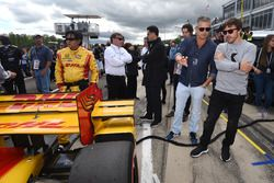 Gil de Ferran, Fernando Alonso, grid
