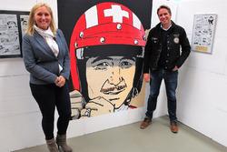 BD Mania 2016, Véronique Siffert und Philippe Siffert, die beiden Söhne von Jo Siffert