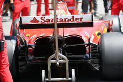 Ferrari SF70H parte trasera