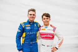 Oliver Rowland, DAMS and Nyck De Vries, Rapax