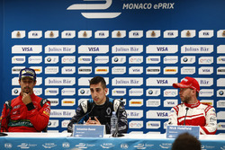 Lucas di Grassi, ABT Schaeffler Audi Sport, Sébastien Buemi, Renault e.Dams, and Nick Heidfeld, Mahi