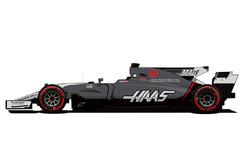 Haas F1 Team Monaco renk düzeni