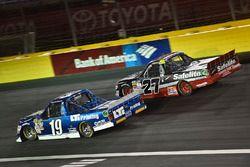 Austin Cindric, Brad Keselowski Racing Ford, Ben Rhodes, ThorSport Racing Toyota