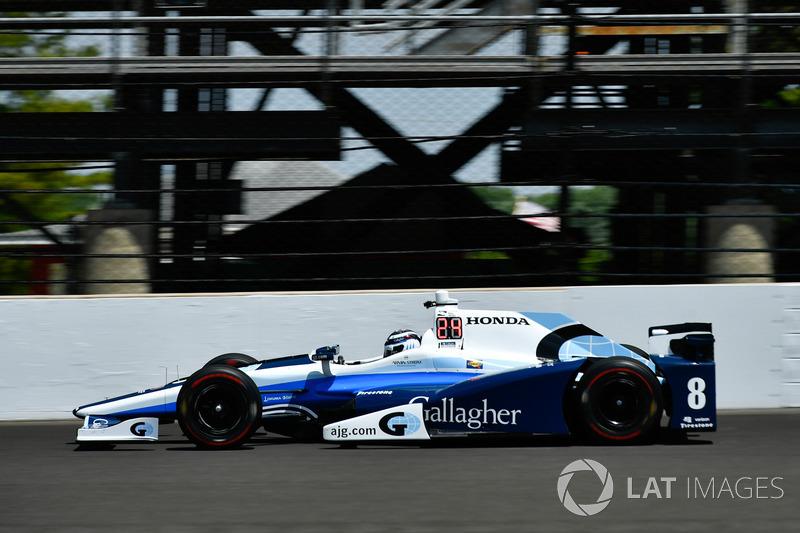 15. Max Chilton, Chip Ganassi Racing, Honda