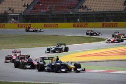 Oliver Rowland, DAMS voor Alexander Albon, ART Grand Prix en Charles Leclerc, PREMA Powerteam