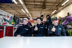 #10 EVA RT Webike TRICKSTAR, Kawasaki ZX 10R: Erwanm Nigon, Osamu Deguchi, Julien Millet
