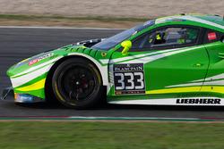#333 Rinaldi Racing Ferrari 458 Italia: Alexander Mattschull, Daniel Keilwitz, Rinat Salkhov