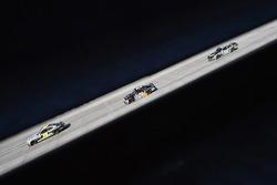 William Byron, JR Motorsports Chevrolet,Corey Lajoie, JGL Racing Toyota e Casey Mears, Biagi-DenBest