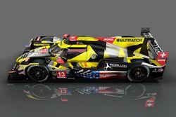 Rebellion Racing renk düzeni