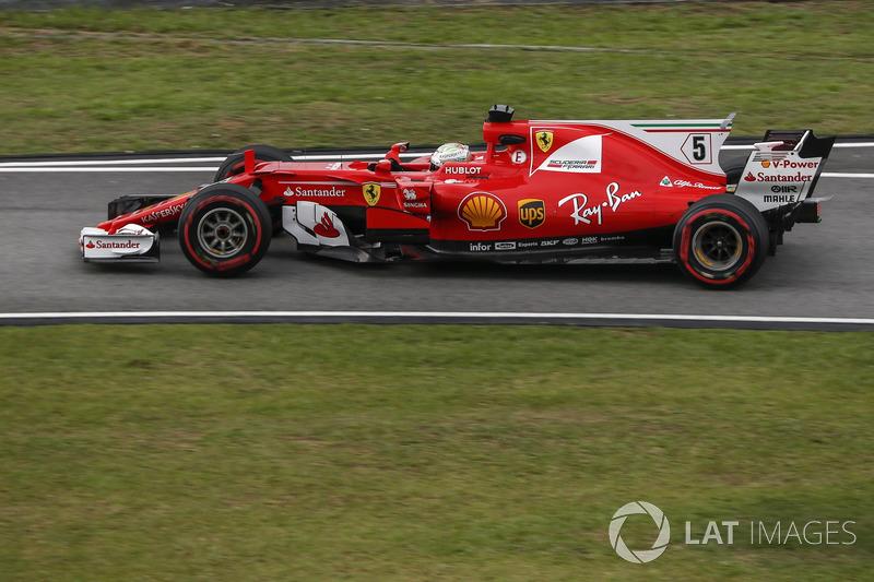 20. Sebastian Vettel, Ferrari SF70H