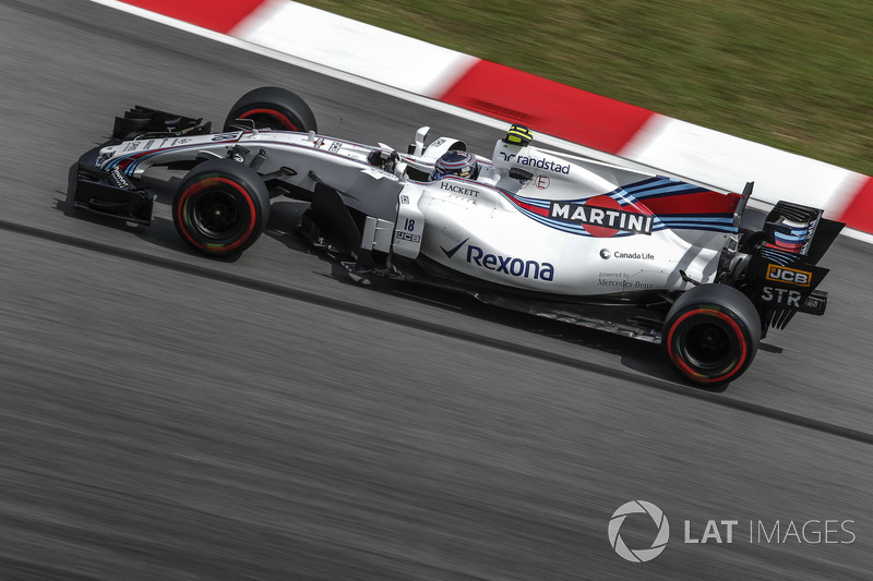Lance Stroll, Williams-Mercedes FW40, 2017