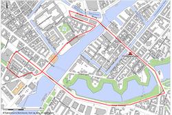 Plan du GP de Copenhague 2020