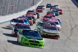 Ryan Blaney, Team Penske Ford, William Byron, JR Motorsports Chevrolet, Justin Allgaier, JR Motorspo