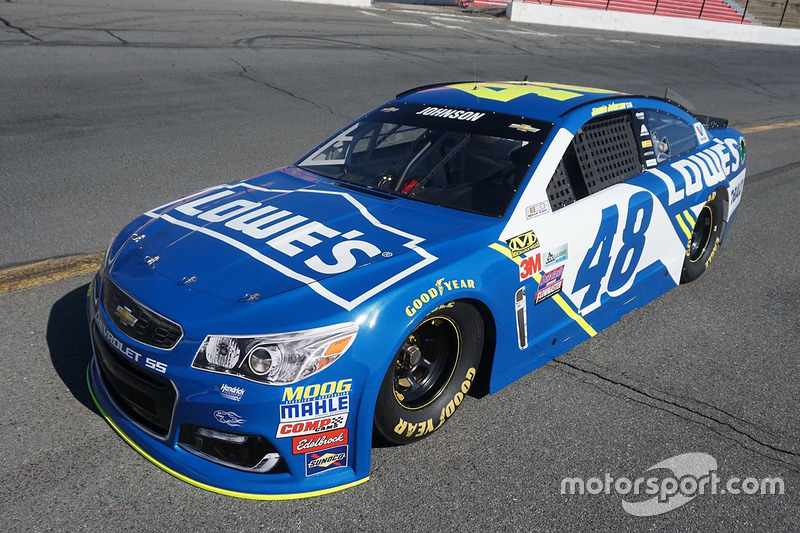 2016: Jimmie Johnson, Hendrick Motorsports Chevrolet