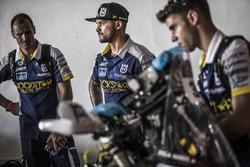 Pablo Quintanilla, Husqvarna Factory Racing with mechanics
