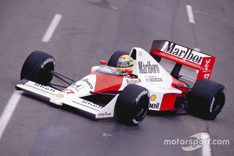Ayrton Senna, McLaren MP4/5B Honda (1990)