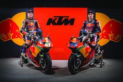 Brad Binder, Red Bull KTM Ajo; Miguel Oliveira, Red Bull KTM Ajo