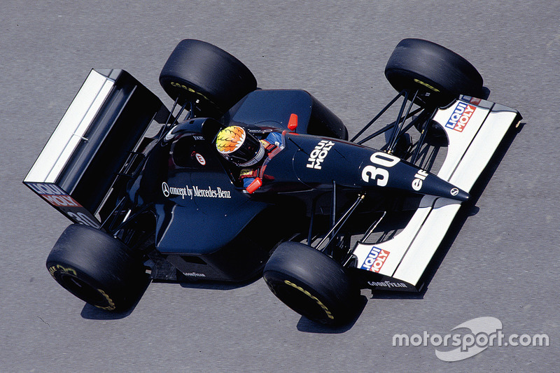 1993: Sauber-Ilmor C12 (два четвертых места, 7-е место в КК)