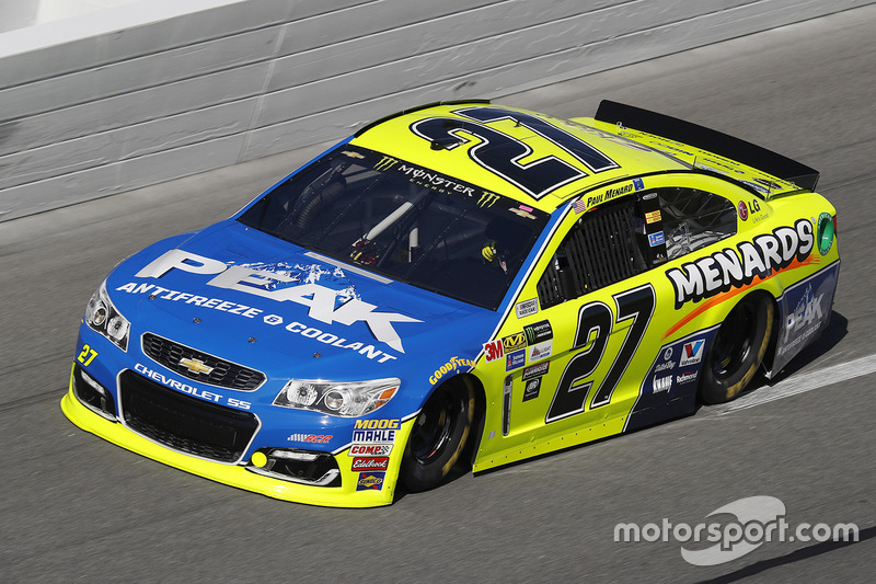 5. Paul Menard, Richard Childress Racing, Chevrolet