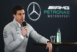Toto Wolff, directeur exécutif Mercedes AMG F1
