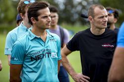 Nelson Piquet Jr., NEXTEV TCR Formula E Team; Stéphane Sarrazin, Venturi