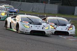 #87 JLOC Lamborghini GT3: Shinya Hosokawa, Kimiya Sato, #88 JLOC Lamborghini GT3: Manabu Orido, Kazu