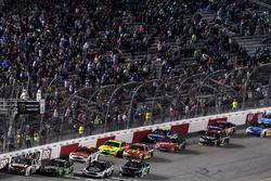Ryan Newman, Richard Childress Racing Chevrolet, Chase Elliott, Hendrick Motorsports Chevrolet, Kevi