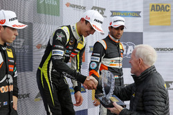 Rookie Podium: Winner Lando Norris, Carlin Dallara F317 - Volkswagen