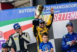 1. Alon Day, CAAL Racing, 2. Marc Goossens, BRAXX Racing, 3. Frederic Gabillon, RDV Competition