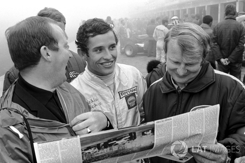 Jacky Ickx (Ferrari): 23 años, 7 meses y 3 días
