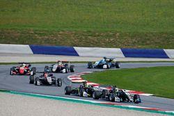 Joel Eriksson, Motopark Dallara F317 - Volkswagen leads