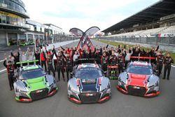 Los campeones 2017: Belgian Audi Club Team WRT