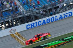 Justin Allgaier, JR Motorsports Chevrolet takes the checkered flag