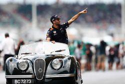 Daniel Ricciardo, Red Bull Racing, pilotlar geçit töreninde