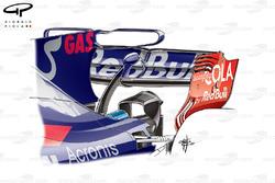 T-wing de la Toro Rosso STR12, Malaysia GP
