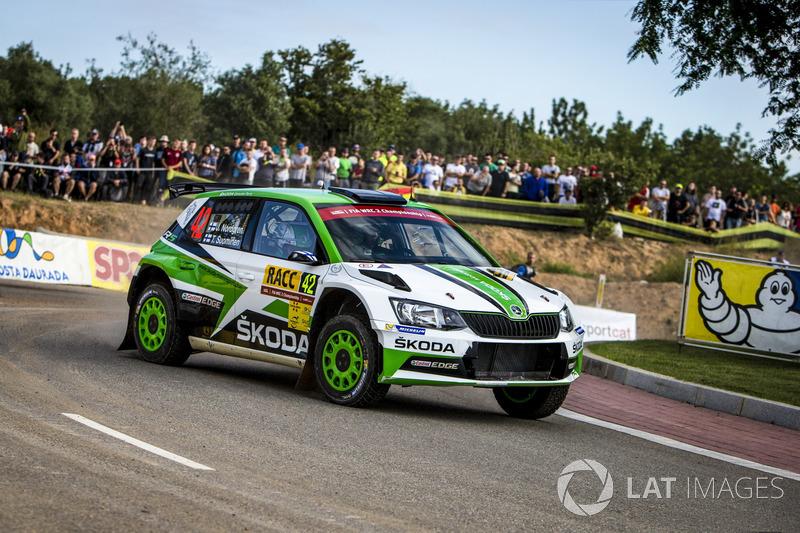 Juuso Nordgren, Tapio Suominen, Skoda Motorsport, Skoda Fabia R5