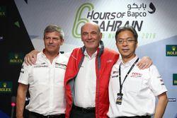 Fritz Enzinger, Dr. Wolfgang Ullrich, Toshio Sato