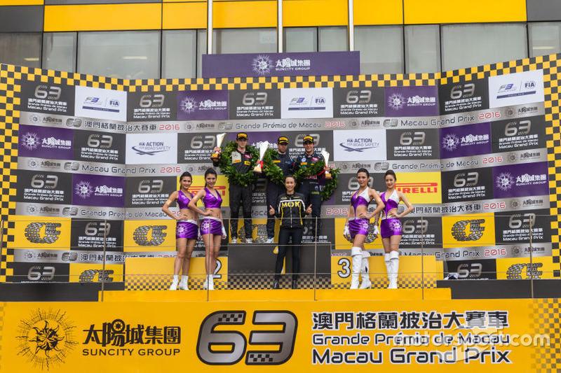 Podium:Race winner:Antonio Felix da Costa;second place:Callum Ilott;third place:Sergio Sette Camara