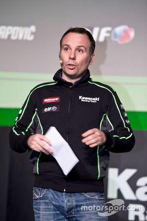 Guim Roda, Kawasaki Racing Team, Teammanager