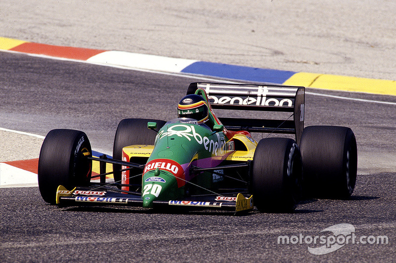 #20 : Thierry Boutsen, Benetton B187, Ford