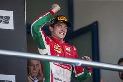 Charles Leclerc, PREMA Powerteam on the podium
