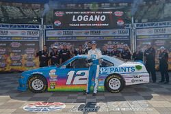 Joey Logano, Team Penske Ford, Wins the Pole for the Xfinity race at Texas